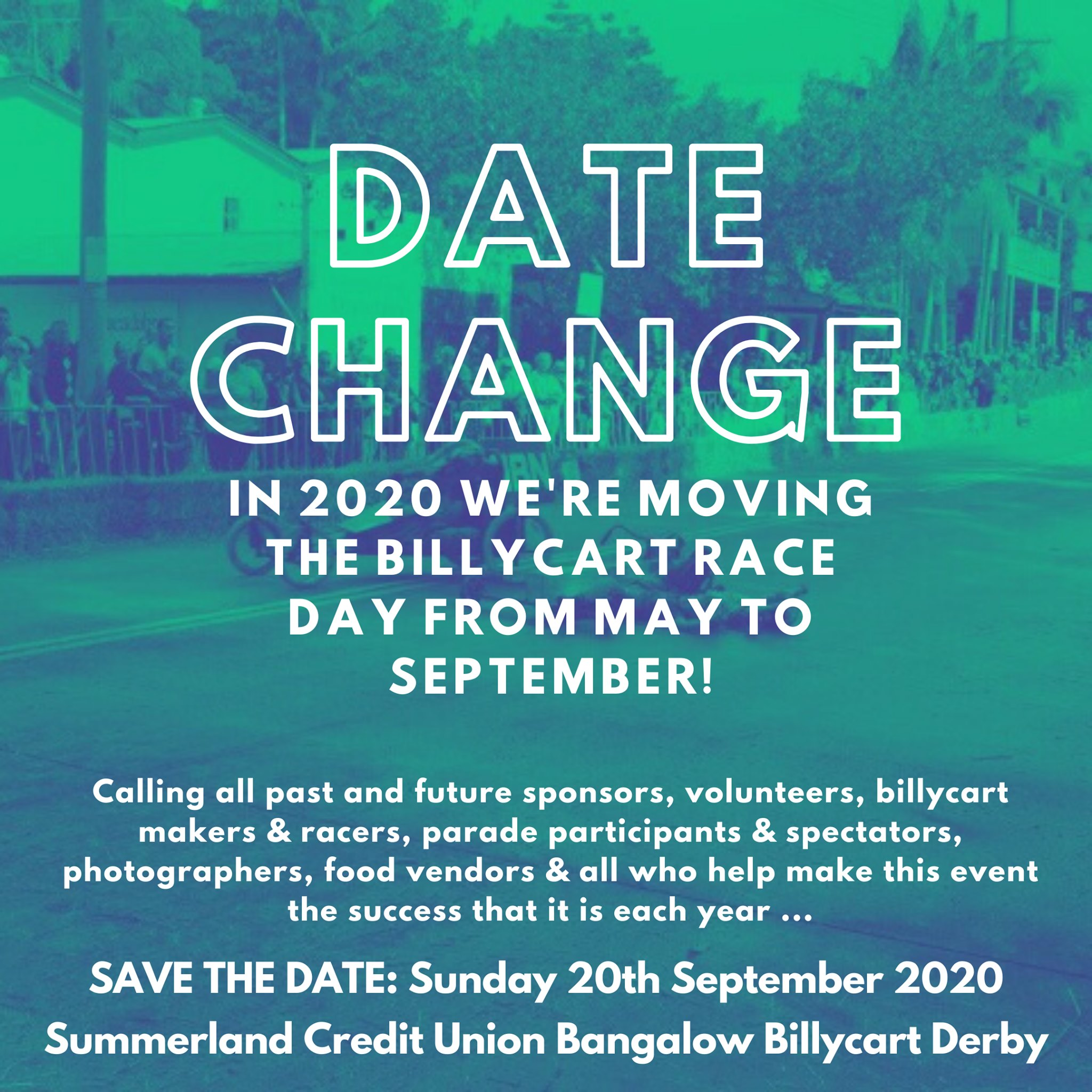 Bangalow Billycart Derby 2020 date change